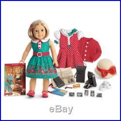 American Girl Kit Kittredge Deluxe Box Set2 OutfitsReporter Set New in AG Box