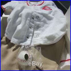 American Girl Kit Reds Fan Baseball Outfit Retired Special Edition Cincinnati