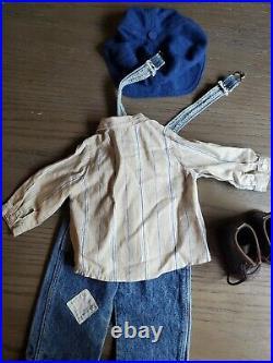 American Girl Kit's Overalls Hobo Outfit HTF Retired