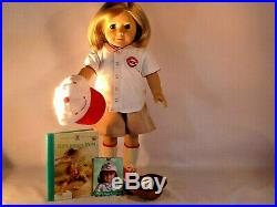 American Girl Kit's REDS FAN OUTFIT EUC Retired, Lmt Edition, Book, + Complete Lot