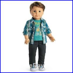 American Girl LOGAN EVERETT Doll & Band PERFORMANCE OUTFIT NEW