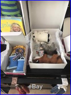 American Girl Lanie Set Doll, Accessories, Wildlife Animals, Nature Outfit BNIB