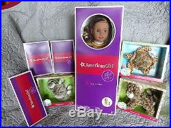 American Girl Lea Clark GOTY 2016 &Hiking Outfit & Accessories &Turtle, Cat, Sloth