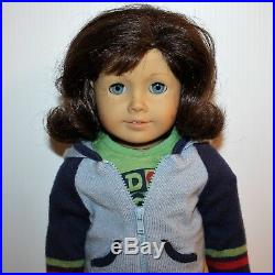 American Girl Lindsey Bergman Doll Of The Year 2001 2002 in Meet Outfit and Book