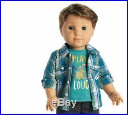American Girl Logan Everett 1st Boy 18 Doll Outfit Retired