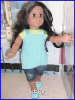 American Girl Lot Sonali DOTY 2009 Complete Meet Outfit, Books