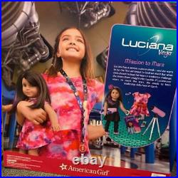 American Girl Luciana Doll and BookTelescope Outfit Accessories 18 inchNEW