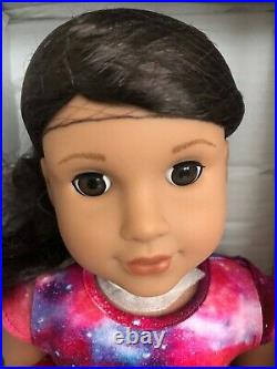 American Girl Luciana Doll and BookTelescope Outfit Accessories NEW NIB 18 inch