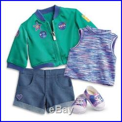 American Girl Luciana Vega Doll And Book With Stellar Outfit New in Box
