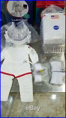 American Girl Luciana's Space Suit, Robotic dog + outfits and maker station New