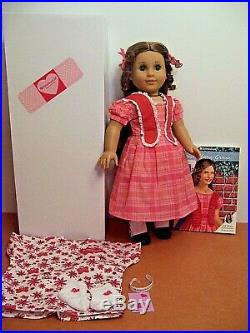 American Girl MARIE GRACE DOLL With Outfit Box & Book