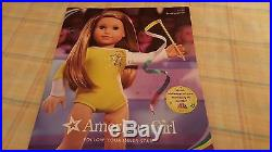 American Girl MCKENNA DOLL NEW, NRFB WARM UP OUTFIT, CATALOG, BOOK, BOX