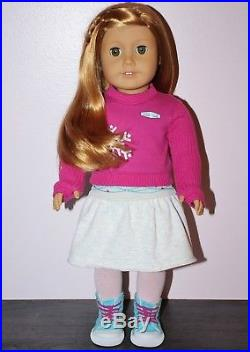 American Girl MIA DOLL + MEET OUTFIT Red Hair