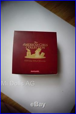 American Girl MOLLY Dude Ranch Outfit with Box, Trading Cards, NEW