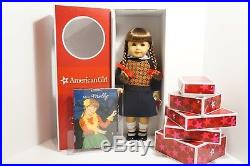 American Girl MOLLY SET WITH 6 OUTFITS Retired Brand New in Box Super Rare