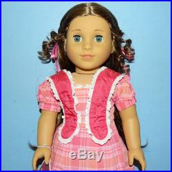 American Girl Marie Grace Doll in Meet Outfit Retired 2014 Book Box Mint Cond
