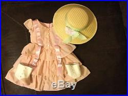 American Girl Marie Grace Summer Outfit Dress, Hat, Shoes and Parasol HTF Rare