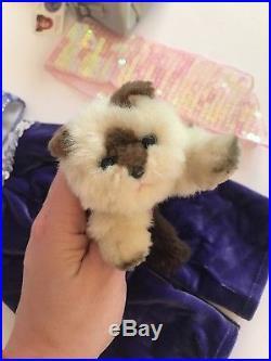 American Girl Marisol Doll Lot Ballet Spotlight Dance Duffel Cat Meet Outfits