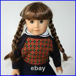 American Girl Marked Pleasant Company Molly McIntire Doll in Meet Outfit no Box