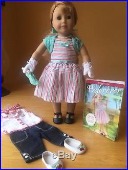 American Girl Maryellen Doll, Accessories, Book And Cherry Play Outfit