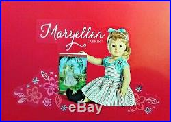 American Girl Maryellen Larkin New In Box Book Outfit Accessories Stand LOT