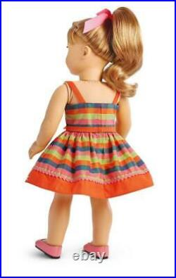 American Girl Maryellen's Rockin' Roller Skating Outfitdressshoeshairbownew