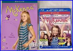American Girl McKenna Doll 2012 GOTY Meet Outfit Book Movie Gymnast EUC