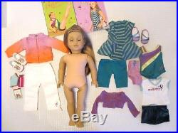 American Girl McKenna Doll GOTY 2012, Starter Collection Outfits, GUC-EUC