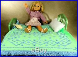 American Girl Meet Doll KIT with Trundle Bed with Bedding, Outfits Lot MINT