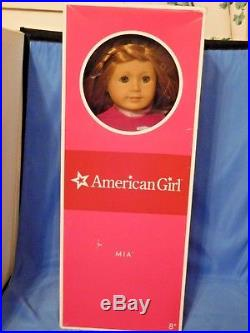 American Girl Mia Doll Meet Outfit Book And Box