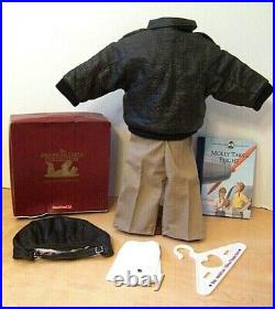 American Girl Molly's Aviator Outfit with Book New In Box