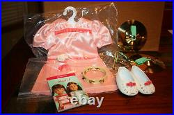 American Girl Molly's Percussion Set and Recital Outfit Complete New No Box