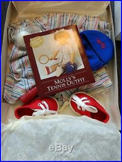 American Girl Molly's Retired Limited Edition Tennis Outfit 1997 Complete