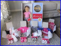American Girl My AG #59 Doll 18 inch BRAND NEW IN BOX PLUS FIVE OUTFITS NEW