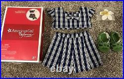American Girl Naneas Palaka Outfit New