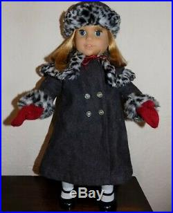 American Girl Nellie Doll in Box w Meet Outfit + EXTRAS Accessories, Coat, LOT