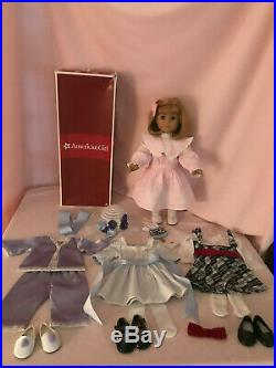 American Girl Nellie In Original Box with Outfits