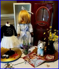 American Girl Nellie O'Malley Doll Dog Extra Outfit Lot