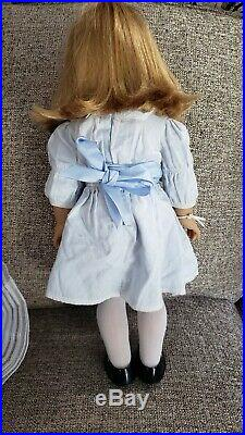 American Girl Nellie O'Malley Doll in Meet Outfit, Purse, Cross Necklace