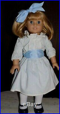 American Girl Nellie Wearing Meet Outfit