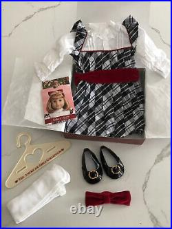 American Girl Nellies Meet Accessories Lydia Doll Pajama Holiday Outfits Lot