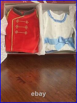 American Girl Nutcracker And Clara Outfit Set NIB. DOLL IS NOT INCLUDED