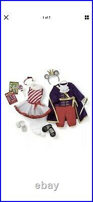 American Girl Nutcracker Mouse King & Land Of The Sweets Outfit Set New in Box