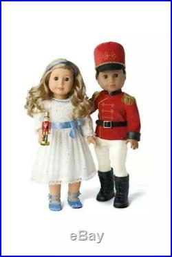 American Girl Nutcracker Prince & Clara Outfit Set. Limited Edition. No Dolls
