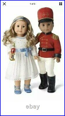 American Girl Nutcracker Prince and Clara Outfit Limited Edition SOLD OUT! RARE
