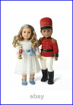 American Girl Nutcracker Prince and Clara Outfit NIB