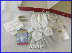 American Girl Nutcracker SNOW QUEEN PRINCE CLARA OUTFITS DISPLAY ONLY RETIRED