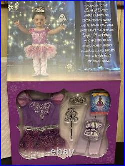 American Girl Nutcracker Sugar Plum Fairy Outfit & Truly Me Doll #86 All Nib