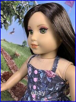 American Girl OOAK Custom 18 Doll Was Rebecca! Seamstress Outfit! Artist Makeup