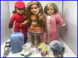 American Girl/Pleasant Co. Doll Lot & Accessories(Including Lee Clark outfit)